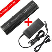 Battery/Charger For HP Pavilion dm4 dv3 dv5 dv6 G42 G62 G72 dv7 g4 g6 g7 Laptop