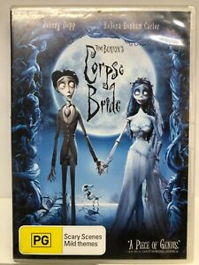Corpse Bride - DVD - AusPost with Tracking