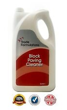 Block Paving Cleaner - Oil Stain Remover - (1x5 Litres)
