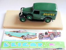 """Citroen 500 Kg van camionnette Lieferwagen 1934 """"POSTES"""" post, Eligor in 1:43!"""