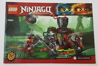 ~~LEGO NINJAGO 70621 - INSTRUCTION MANUAL ONLY
