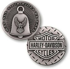 Harley Davidson / Gremlin Bell ~1.75oz .999 Silver Challenge Coin