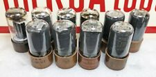 Lot of 10 Ex to NOS Test (Gm) Mixed Brands 6V6GTY (JAN) Beam Power Tubes (437)