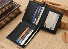 Business Men's RFID Blocking Anti Theft Wallet ID/Credit Card Shield Money Clip