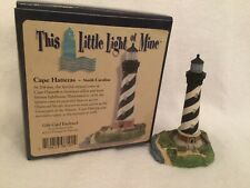 Harbour Lights Cape Hatteras, Nc This Little Light of Mine, original box. C 2000