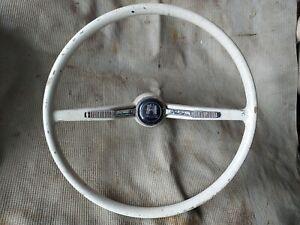 Classic VW Beetle Type 3 Karmann Ghia Steering Wheel 1500'S 1600TL Wolfsburg Bug
