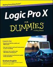 Logic Pro X for Dummies (Paperback or Softback)