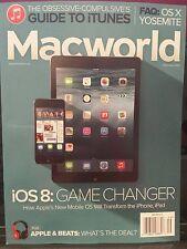 Macworld Guide to iTunes iOS8 FAQ: OS X Yosemite September 2014 FREE SHIPPING