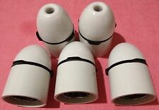 5 X MK High Heat Resistant 1170 WHI Shockguard Plus Pendant Lamp Holder BS5042