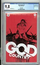 God Country Vol 1 #1 2nd Print Variant CGC 9.8 Donny Cates Hot Comic F