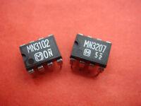 5X PANASONIC MN3207 +5X MN3102 CHORUS FLANGER BBD IC