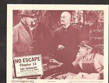 1957 MOVIE LOBBY CARD #3-1314 -HOP HARRIGAN - SERIAL CH13