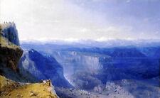 Oil painting Ivan Constantinovich Aivazovsky - The Caucasus - landscape canvas