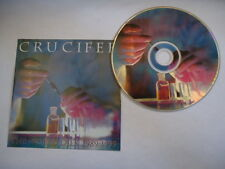 CRUCIFER THE WORLD DIES VINTAGE 1999 US WILD RAGS CD NEW B17 death metal trash