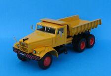 n° 85  KrAZ 258  Camion Benne de Chantier CAMIONS D'AUTREFOIS 1/43 neuf en boite