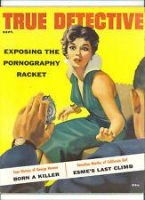 September True Crime Magazines