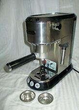 De'Longhi Dedica EC 680.M Manual Espresso Machine - Stainless Steel