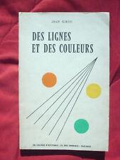 Jean Girou, Des lignes et des couleurs