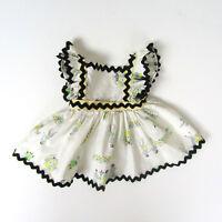 Vtg 1950s Doll FULL SKIRT APRON DRESS Ideal Toni 14'' 15'' Miss Revlon Sweet Sue