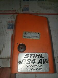Stihl 034AV Chainsaw Top Cover Used OEM