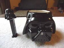"""Set Of 2 Star Wars Darth Vader Items,1,"""" NWOT """" Cup / Mug,1,Pez Dispenser """" GREA"""