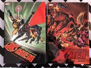 ASTONISHING X-MEN Vol 1 & 2 HARDCOVERS First Printing Joss Whedon John Cassaday