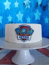 paw patrol edible cake topper