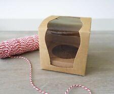 Elegant Single Cupcake Boxes Wedding Cake Bomboniere Baby Shower Favour Box