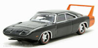 1969 Dodge Charger Daytona Black Diecast Car Oxford HO 1/87 Scale 87DD69001