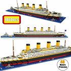 1860 pcs TITANIC Cruise Ship Boat Building Bricks Blocks 3D Model Kids Toys Gift