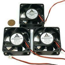 3 pieces Computer case 2Pin 6025 DC Fan 24V 6cm 60x60x25mm Motor Cooling C40