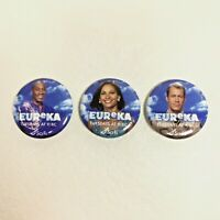 Sci-Fi Channel SyFy A TOWN CALLED EUReKA Promo Pinback Button Pin Andrew Cosby