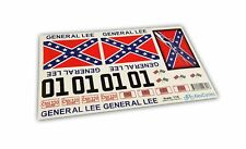GENERAL LEE RC Car 1/16 16th Scale Duke of Hazzard Decals Stickers Full Kit S...