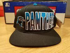 Carolina Panthers Vintage 90s Starter Snapback Big Logo Script Pro Line (New)