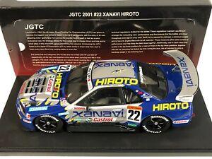 AUTOART 80177 Nissan Skyline GTR (R34) Xanavi #22 JGTC 2001 Krumm Tanaka 1/18