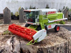 1/32 scale Norev Claas Dominator maxi 108sl combine harvester mahdrescher