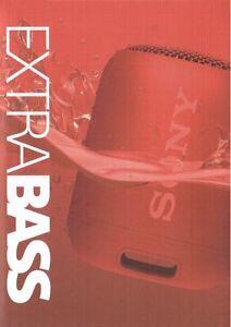 SONY SRS-XB12  Bluetooth Tragbar Extra Bass Lautsprecher rot