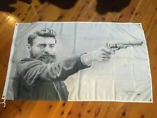 Poster NED KELLY man cave flag Aussie outlaw bushranger such is life Banner