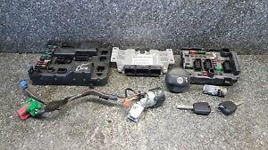 Peugeot 307 CC 2.0 16V ECU KIT & LOCK SET 9651626280 #N3F0