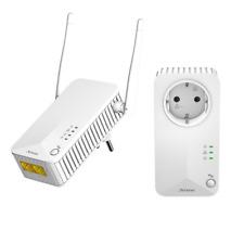 Powerline Duo WLAN 500 MBit PowerLAN IPTV Streaming LAN Netzwerk über Steckdose