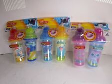 Nuby Clik-it™ Insulated Flip-it™ Cup Variety 6 pack