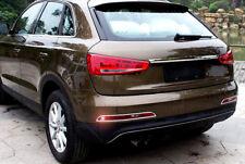 For Audi Q3 2012 2013 2014 15 Car Chrome Stylish Rear Tail Fog Light Cover Trim