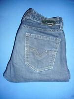 DIESEL LARKEE 0088Z- W30 L32- Mens Dark Blue Denim Jeans - Button-Fly -G864