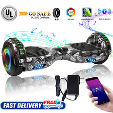 2-Wheel Hoverboard Electric Self Balancing Scooter With Bluetooth no Bag Gift Us