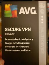 AVG Secure VPN 2020 5 Devices 1 Year
