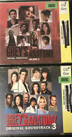Lot 2 CDS Grey's Anatomy Volumes 2 & 3 Original Soundtracks Smoke Free Home =)