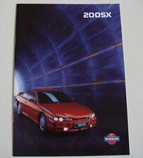 Nissan . 200SX . Nissan 200SX . April 1997 Sales Brochure
