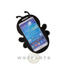 Samsung Galaxy S4 Character Rubber Skin Case Bee Black Cover Shield Shell