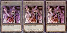 3x Yugioh Emissary of Darkness Token Cards - Ultra Rare LC03-EN005 Set Lot