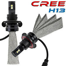 5000LM H13 9008 CREE LED Headlight Bulb Kit Replace HID Halogen GMC Jeep Ford
